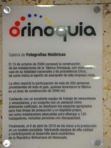 HISTORIA INDUSTRIA ORIINOQUIA